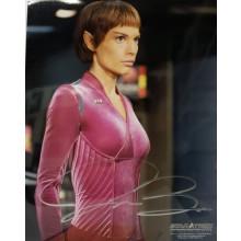 Autografo Jolene Blalock - Star Trek Enterprise 2  Foto 20x25