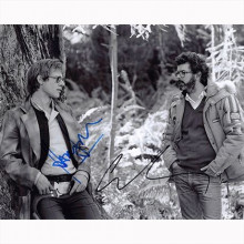 Autografo Harrison Ford & George Lucas Star Wars Foto 20x25
