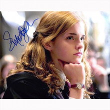Autografo Emma Watson - Harry Potter Foto 20x25
