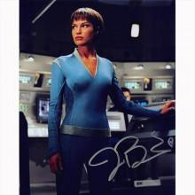 Autografo Jolene Blalock - Star Trek Enterprise 3 Foto 20x25