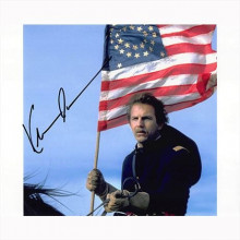 Autografo Kevin Costner - Dances with Wolves 2 Foto 20x25