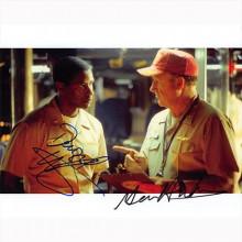 Autografo Denzel Washington & Gene Hackman - Foto 20x25