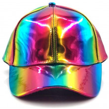 Cappellino Colore Arcobaleno Back to The Future Prop