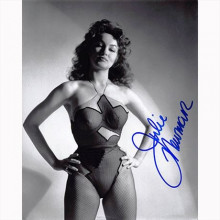 Autografo Julie Newmar Foto 20x25