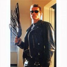 Autografo Arnold Schwarzenegger - Terminator Foto 20x25