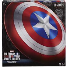 Hasbro Series Marvel Legends, Scudo Premium Captain America Falcon e Winter