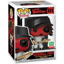 Funko Pop! The Worriors Gurrieri della Notte Baseball Fury 824 Red Funko Ltd Edition