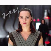 Auotgrafo Daisy Ridley -6 Star Wars Foto 20x25