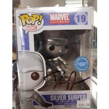 Funko Pop! Silver Surf #19 Autografo Doug Jones