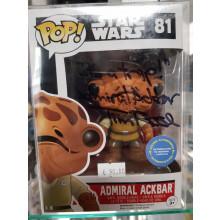 Autografo Tim Rose 2 Funko Pop! Admiral Ackbar #81