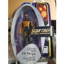Autografo LeVar Burton Star Trek TNG Geordi La Forge 2 Action Figure