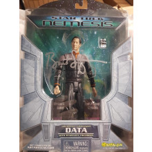 Autografo Brent Spiner Star Trek First Contact Data Diamond Select