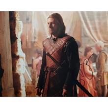 Autografo Sean Bean 4 - Game of Thrones - Il Trono di Spade Foto 20x25