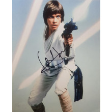 Autpografo Mark Hamill Star Wars Foto 20x30