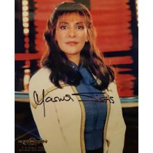 Autografo Marina Sirtis Star Trek - L'insurrezione Foto 20x25