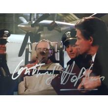 Autografo Anthony Hopkins Hannibal Lector Foto 10x15