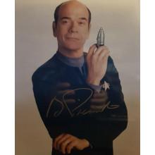 Autografo Robert Picardo Star Trek  Voyager 3 Foto 20x25