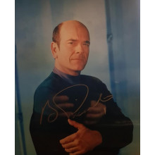 Autografo Robert Picardo Star Trek Voyager 10 Foto 20x25
