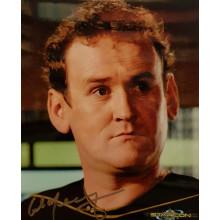 Autografo Colm Meaney Star Trek TNG Foto 20x25