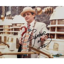 Autografo Sylvester McCoy Doctor Who 2 Foto 20x25