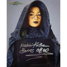 Autografo Nalini Krishan Star Wars Foto 20x25
