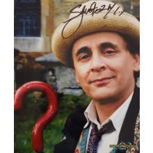 Autografo Sylvester McCoy Doctor Who 3 Foto 20x25