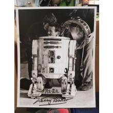 Autografo Star Wars Kenny Baker 2 - Foto 20x25
