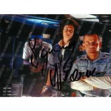Autografo Sigourney Weaver Alien Foto 15x20