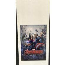 Avengers age of ultron Locandina cm 33x70