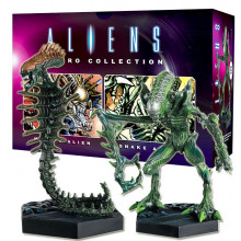Statuette Aliens Retro Collection Snake Alien & Mantis Alien – The Alien & Predator Figurine Collection