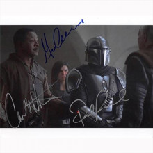Autografo cast The Mandalorian 3 Actor Foto 20x25