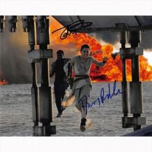 Autografo Star Wars Daisy Ridley & John Boyega 2 -  Foto 20x25
