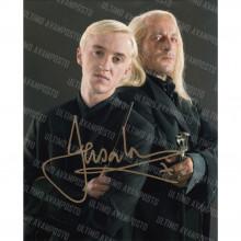 Autografo Jason Isaacs 2 Harry Potter Foto 20x25
