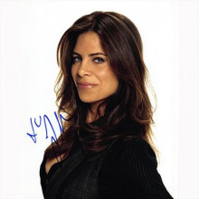 Autografo Jillian Michaels Foto 20x25