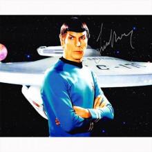 Autografo Leonard Nimoy 3- Star Trek Foto 20x25