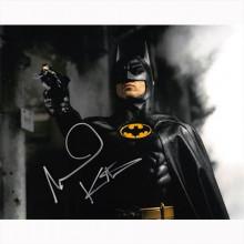 Autografo Michael Keaton - Batman Foto 20x25