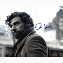 Autografo Oscar Isaac Foto 20x25