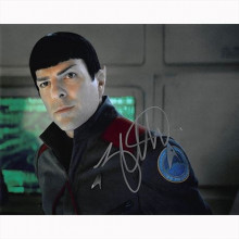Autografo Zachary Quinto - Star Trek Foto 20x25
