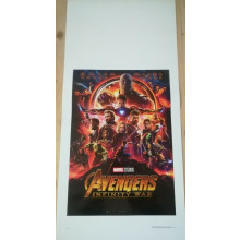 Avengers infinity war Locandina cm 33x70