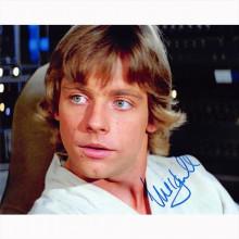 Autografo Mark Hamill -5 Star Wars Foto 20x25
