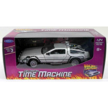 Auto 1:24 DELOREAN TIME MACHINE BACK TO FUTURE RITORNO FUTURO