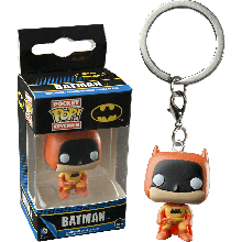 Funko Pocket POP! Keychain Portachiavi Batman 75th Batman Orange