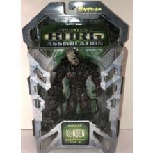 """Star Trek - Borg Assimilation - 7"""" Klingon - 1 of 3 - Action Figure - 2002"""