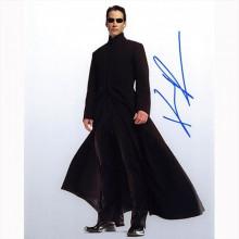 Autografo Keanu Reeves -2  The Matrix Foto 20x25