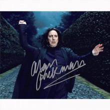 Autografo Alan Rickman - Harry Potter Foto 20x25