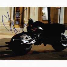 Autografo Christian Bale - The Dark Knight Foto 20x25