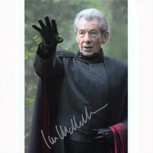 Autografo Ian McKellen - X-Men Foto 20x25