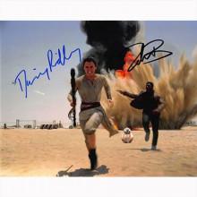 Autografo Star Wars Daisy Ridley & John Boyega -  Foto 20x25