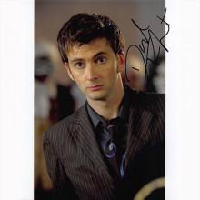 Autografo David Tennant - Doctor Who 2 Foto 20x25