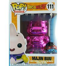 FUNKO POP! ANIMATION DRAGONBALL Z #111 MAJIN BUU PINK CHROME SPECIAL EDITION